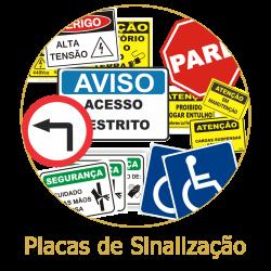 Placas de Sinalizaçao 1